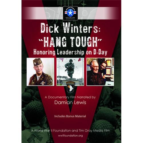 Dick Winters: Hang Tough DVD Movie 2013 8.84502E+11
