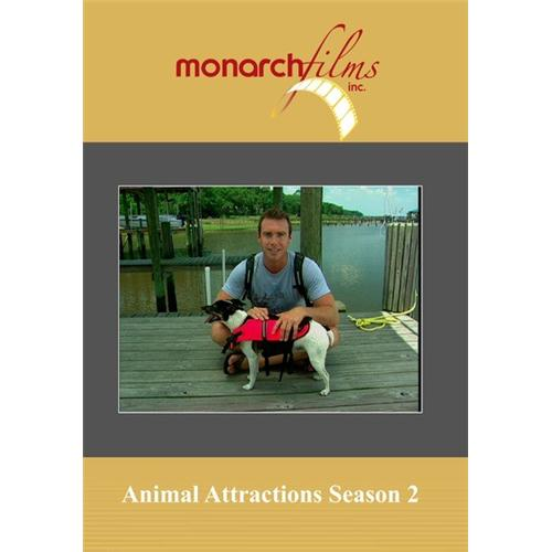 Animal Attractions Season 2(5 Disc Set) DVD Movie 2008 - Documentary Movies and DVDs