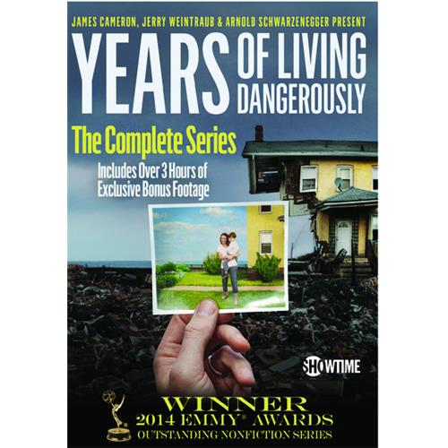 Years of Living Dangerously -- The Complete Showtime Series DVD-5 887936951893