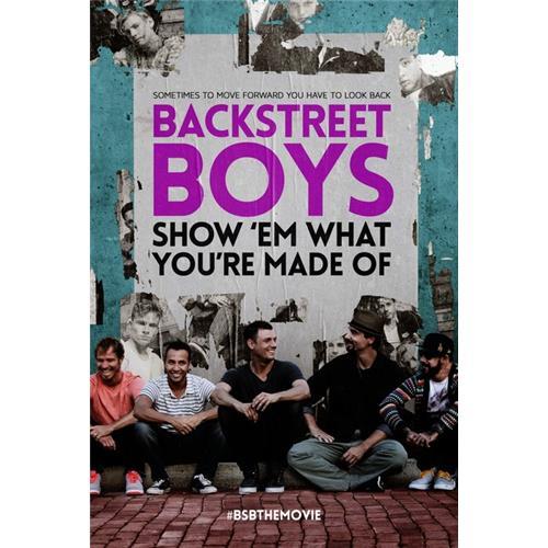 Backstreet Boys: Show 'Em What You're Made Of DVD-5 889290156235