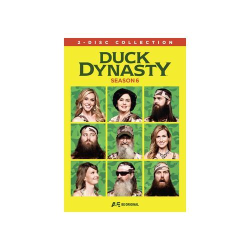 DUCK DYNASTY-SEASON 6 (DVD) (WS/ENG/SPAN SUB/ENG SDH/2.0 DOL DIG/2DISCS) 31398204459