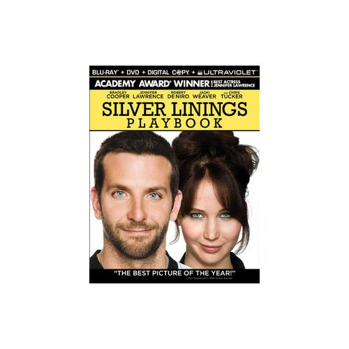 SILVER LININGS PLAYBOOK (BLU-RAY/DVD COMBO/DC/UV/2 DISC) 13132597232
