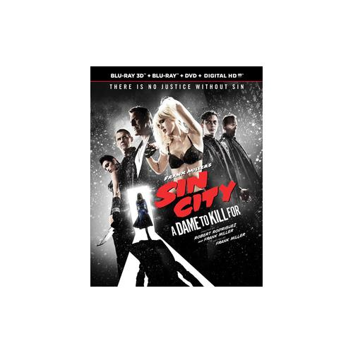 SIN CITY-DAME TO KILL FOR (BLU-RAY/3D/DVD/COMBO/UV/3 DISC) (3-D) 13132612980