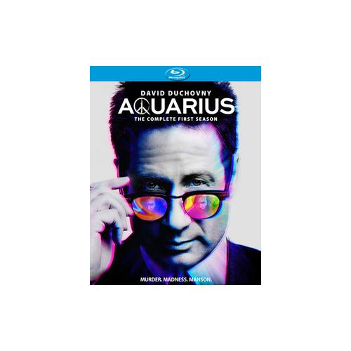AQUARIUS-COMPLETE FIRST SEASON (BLU-RAY/4 DISC) 13132636344