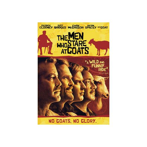 MEN WHO STARE AT GOATS (DVD) 13132137094