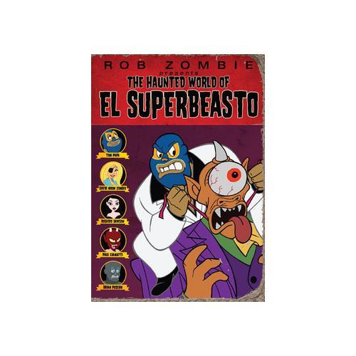 HAUNTED WORLD OF EL SUPERBEASTO (DVD/WS) 13138209788
