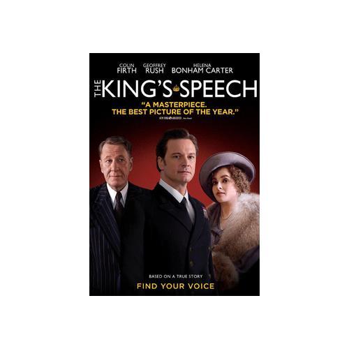 KINGS SPEECH (DVD) 13132313092
