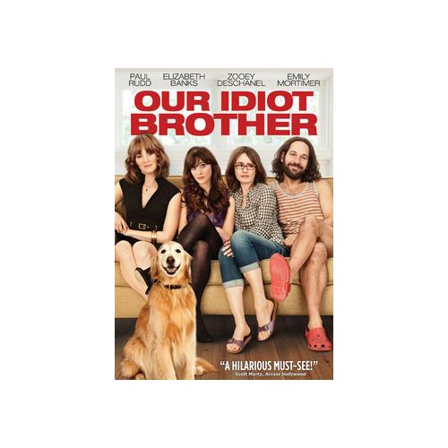 OUR IDIOT BROTHER (DVD) 13132367095