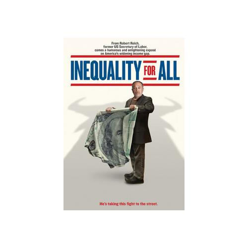 INEQUALITY FOR ALL (DVD) 13132609249