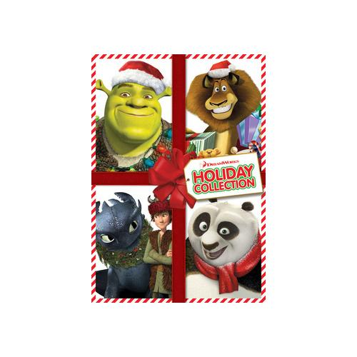 DREAMWORKS HOLIDAY COLLECTION (DVD) (2DISCS/WS)(SHREK/KUNGFU/MERRY/DRAGON) 37117077731