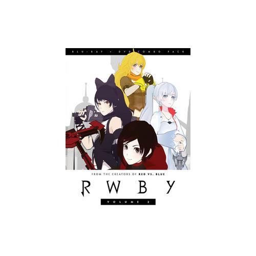 RWBY V02 (BLU-RAY/DVD COMBO/2 DISC) 883476145693