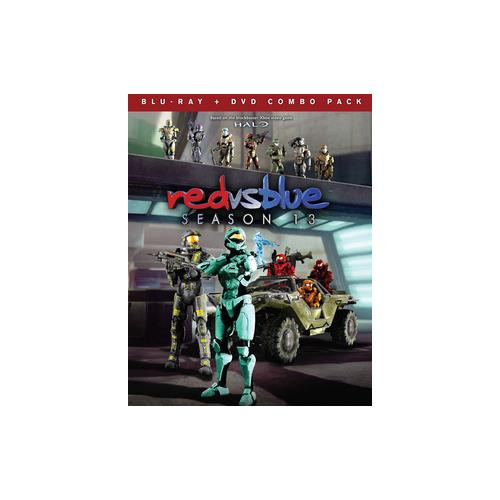 RED VS BLUE-SEASON 13(BLU RAY/DVD COMBO) (WS/2DISCS) 883476149219