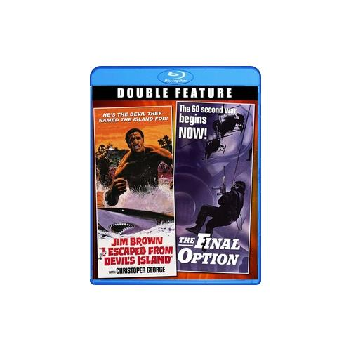 I ESCAPED FROM DEVILS ISLAND/FINAL OPTION (BLU-RAY) 826663151046