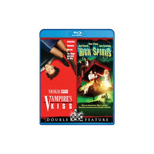 VAMPIRES KISS/HIGH SPIRITS-DOUBLE FEATURE (BLU-RAY) 826663156324