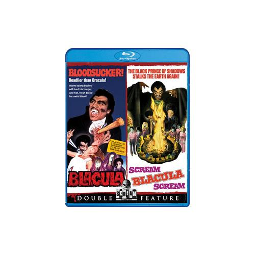 BLACULA/SCREAM BLACULA SCREAM (BLU RAY) (WS/1.78:1) 826663156539