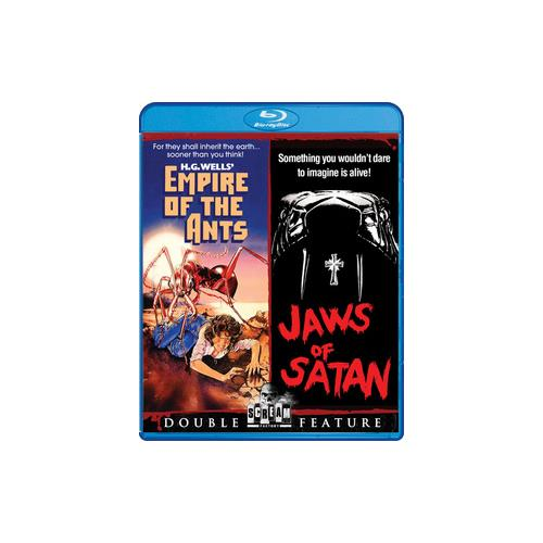 EMPIRE OF THE ANTS/JAWS OF SATAN (BLU-RAY/WS/DBF) 826663157819