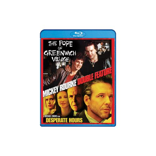 MICKEY ROURKE-POPE OF GREENWICH VILLAGE/DESPERATE HOURS (BLU RAY) (WS) 826663157857