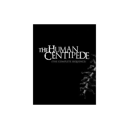 HUMAN CENTIPEDE-COMPLETE SEQUENCE (BLU-RAY/WS/3 DISC) 826663162745