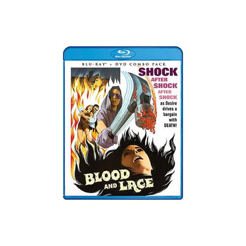 BLOOD AND LACE (BLU-RAY/DVD COMBO/1971/2 DISC) 826663163407