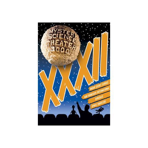 MYSTERY SCIENCE THEATER 3000 XXXII (DVD/WS/4 DISC) 826663156850