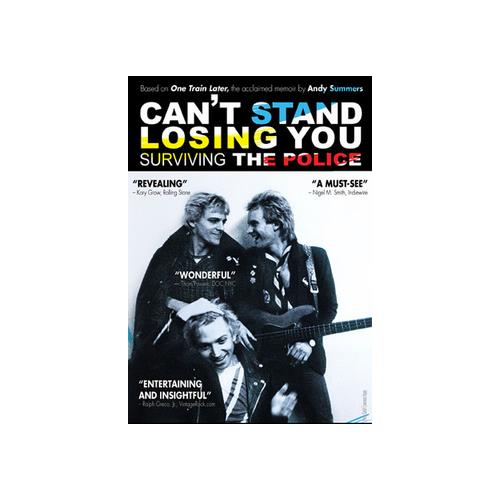 CANT STAND LOSING YOU-SURVIVING THE POLICE (DVD) 881394118829