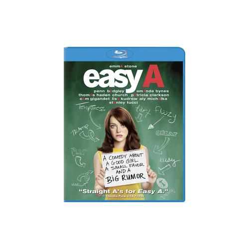 EASY A (BLU RAY/WS/1.85/DD 5.1/ENG-SUB/FR-BOTH/SP/PO) 43396362765