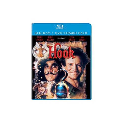 HOOK BLU RAY/DVD COMBO 2 DISC/5.1 DTS/DTS5.1/ENG/FRENCH(PARIS/KOREAN/CHIN) 43396380875