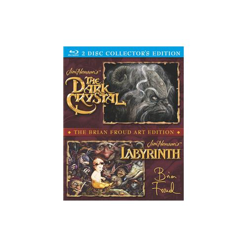 DARK CRYSTAL/LABYRINTH DOUBLE FEATURE (BLU RAY/2DISCS/DD 5.1/FF/WS/2.35) 43396398511