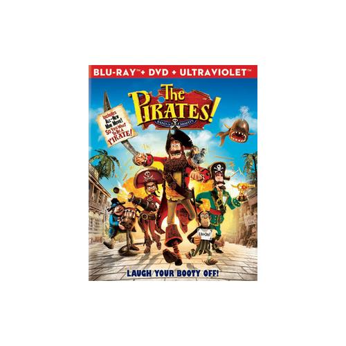 PIRATES-BAND OF MISFITS BLU RAY/DVD COMBO 2PK (DOL DIG 5.1/WS/2.35) 43396399884