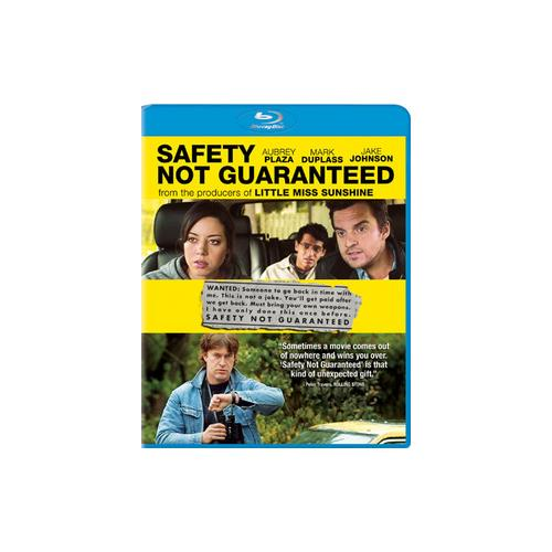 SAFETY NOT GUARANTEED (BLU RAY/ULTRAVIOLET (2.35/WS/ENG) 43396407398