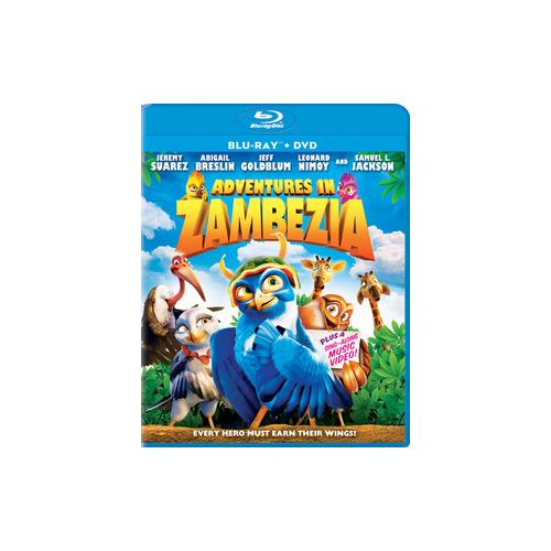 ADVENTURES IN ZAMBEZIA BLU RAY/DVD COMBO 2PK  (1.33:1) 43396416000