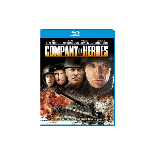 COMPANY OF HEROES (BLU RAY) (DOL DIG 5.1/WS/1.78/ENG/ULTRAVIOLET) 43396416093