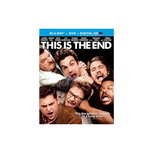 THIS IS THE END (BLU-RAY/DVD COMBO/WS 2.40/ULTRAVIOLET/2 DISC/DD5.1/ENG) 43396417625