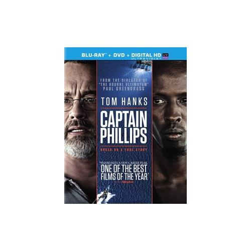 CAPTAIN PHILLIPS (BLU-RAY/DVD COMBO/ULTRAVIOLET/WS 2.40/2 DISC/DD5.1) 43396417816