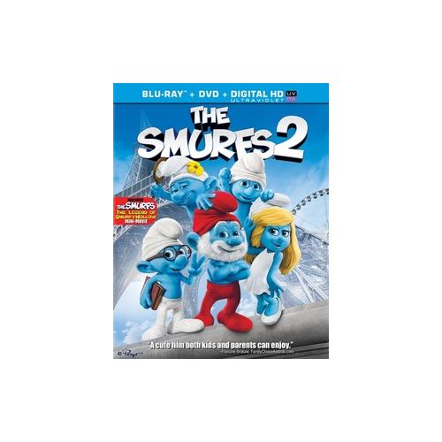 SMURFS 2 (2013/BLU-RAY/DVD COMBO/ULTRAVIOLET/2 DISC/DOL DIG 5.1/WS 1.85) 43396419643