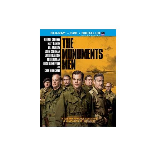 MONUMENTS MEN (BLU-RAY/DVD COMBO/ULTRAVIOLET/WS 2.40/2 DISC/DOL DIG 5.1) 43396424852