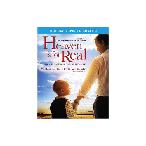 HEAVEN IS FOR REAL (BLU-RAY/DVD COMBO/ULTRAVIOLET/WS 2.40/2 DISC/DD5.1/ENG) 43396439191