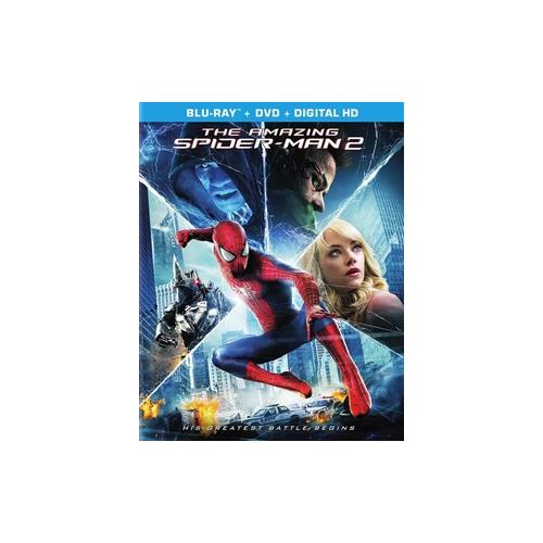 AMAZING SPIDERMAN 2 (2014/BLU-RAY/DVD COMBO/ULTRAVIOLET/2 DISC) 43396439580