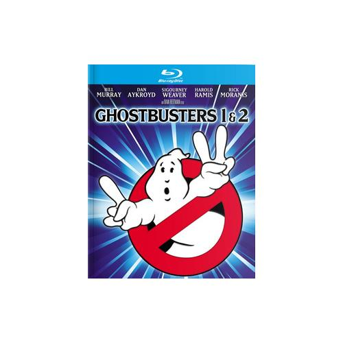 GHOSTBUSTERS 1&2 (BLU RAY/4K-MASTERED/MULTIFEATURE/ULTRAVIOLET/2DISCS) 43396442955