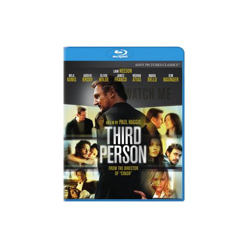 THIRD PERSON (BLU-RAY/WS 2.35/DOL DIG 5.1/ENG/US/LATIN AMERI SPAN) 43396445437