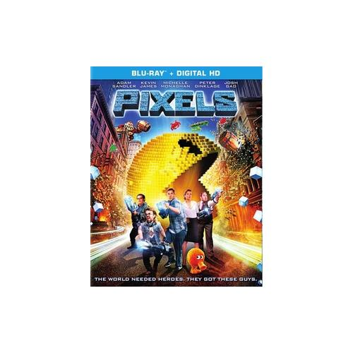 PIXELS (2015/BLU-RAY/ULTRAVIOLET/1 DISC) 43396446724