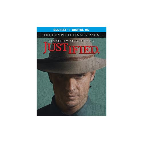 JUSTIFIED-FINAL SEASON (BLU-RAY/ULTRAVIOLET/3 DISC) 43396453883