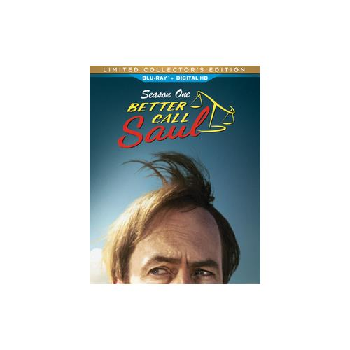 BETTER CALL SAUL-SEASON ONE (BLU-RAY/COLLECTORS EDITION/ULTRAVIOLET) 43396465299