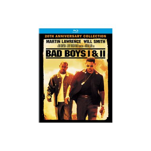 BAD BOYS/BAD BOYS II 2PK (BLU RAY) (BACK TO BACK W/ULTRAVIOLET) 43396469242