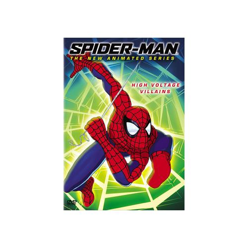 SPIDERMAN V02-ANIMATED SERIES-HIGH VOLTAGE VILLIANS (DVD/WS 1.78 A/DD 5.1) 43396054608