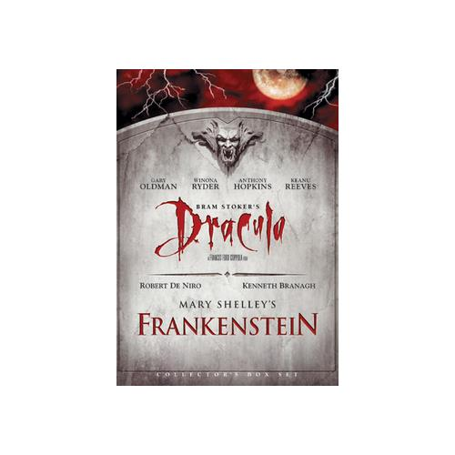 DRACULA (BRAM STOKER)/FRANKENSTEIN (MARY SHELLEY)-DOUBLE FEATURE (DVD/2 DIS 43396131156