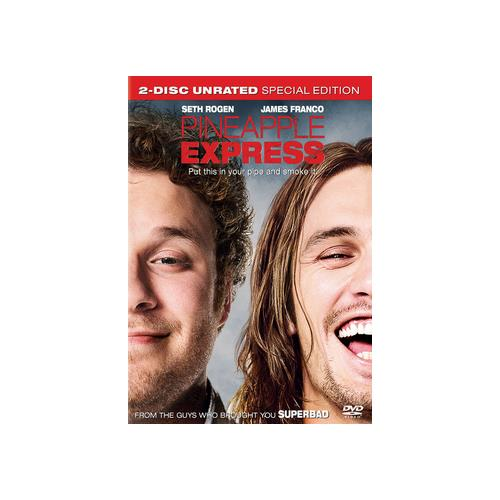 PINEAPPLE EXPRESS (DVD/UNRATED/2 DISC/WS 2.40 A/DD 5.1/ENG-SUB/FR-BOTH) 43396281189