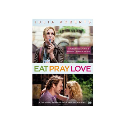 EAT PRAY LOVE (DVD/WS 1.85/5.1/THEATRICAL & EXTENDED CUT) 43396362338