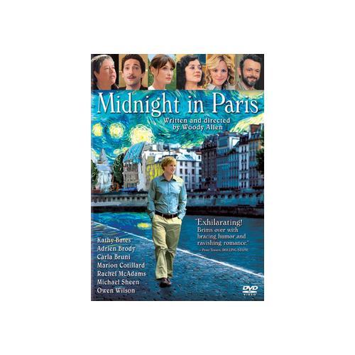 MIDNIGHT IN PARIS (DVD) (DOL DIG 5.1/1.85/WS/ENG/LATIN AMER/SPAN/FREN(PARIS 43396385269