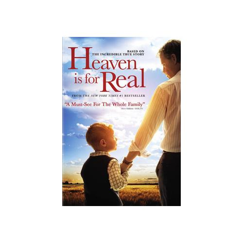 HEAVEN IS FOR REAL (DVD/ULTRAVIOLET/WS 2.40/2 DISC/DD5.1/ENG) 43396439221